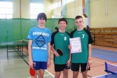 2013.03.07 - Mistrzostwa Głogowa w Tenisie Stołowym Chłopców
