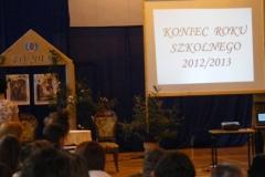 2013.07.01 - Zakończenie roku szkolnego 2012-2013 kl. I-II