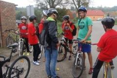 """2014.09.13 - Szkolna wycieczka rowerowa z """"Drużyną Szpiku"""" 2014"""