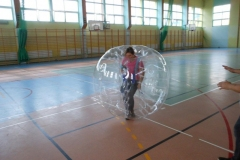 2014.09.20 Zajęcia pokazowe z wykorzystaniem Bubble Football