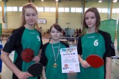 2015.02.11 - Mistrzostwa Głogowa w Tenisie stołowym Dziewcząt