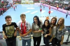 2015.11.28 kibicujemy Polska - Czarnogóra