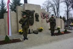 2016.11.10 odsłona pomnika na cmentarzu