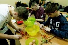 2018.03.14 Projekt kulinarny chłopców z klas 2
