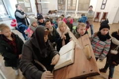 Niezwykła lekcja historii Głogowa oraz warsztaty bożonarodzeniowe w Muzeum archeologiczno- historycznym w Głogowie