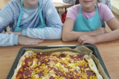 Pierwsze zajęcia kulinarne klas 7