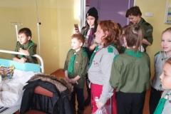 Zuchy z wizytą na Głogowskim Oddziale Dziecięcym